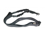 ONE POINT BUNGEE SLING WITH QD SNAP HOOK BLK