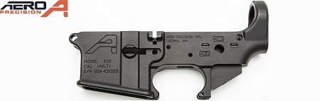 AERO PRECISION GEN2  AR15 Stripped Lower Receiver