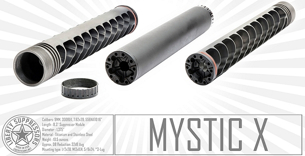 LIBERTY, MYSTIC X SUPPRESSOR