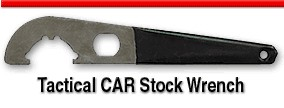 Tactical CAR Stock Wrench