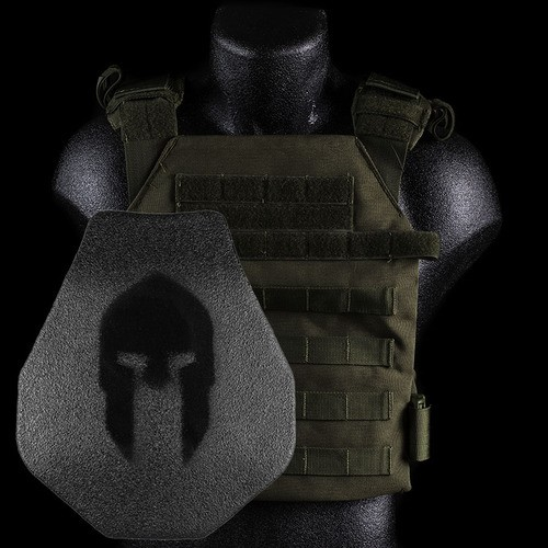 SPARTAN ARMOR/SENTRY CARRIER/ AR500 BODY ARMOR (SWIMMERS CUT)