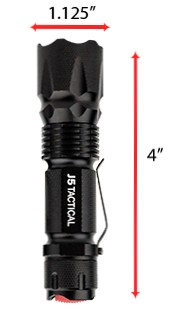 V1 PRO TACTICAL FLASHLIGHT BLK