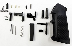 BGR MILSPEC AR LOWER PARTS KIT, NO FIRE CONTROL GROUP