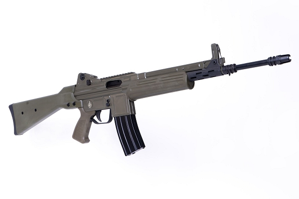 MarColMar Firearms CETME L Gen 2 223 Rem / 5.56x45mm Spanish Green Semi-Automatic Rifle with Rail