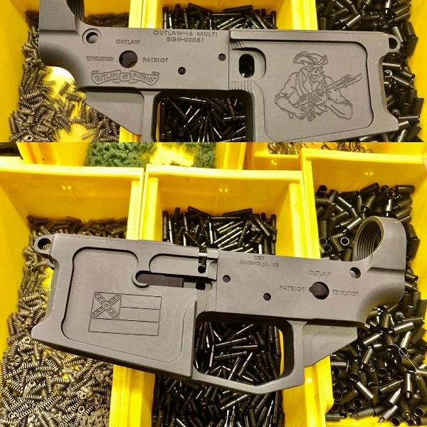 BGR MISSISSIPPI OUTLAW-16 BILLET AR15 LOWER RECEIVER