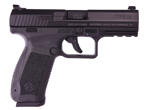 CENTURY ARMS CANIK TP9DA 9MM 18 RDS 4.07