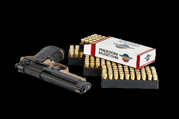 FREEDOM MUNITIONS 9MM 115 GR RN REMAN