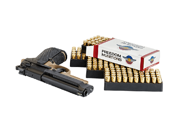 FREEDOM MUNITIONS 9MM LUGER 147 GR RN