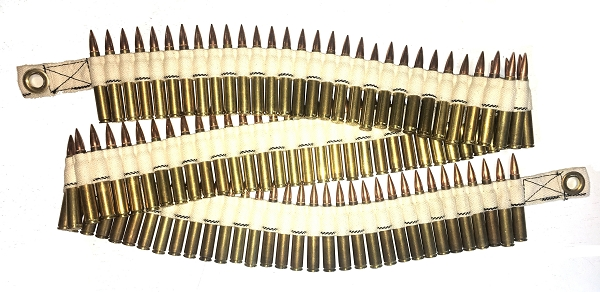308 BELT FED DUMMY ROUNDS