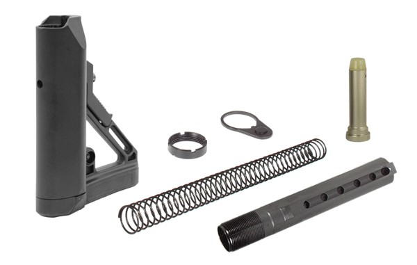 UTG PRO AR15 Ops Ready S1 Mil-spec Stock Kit, Black