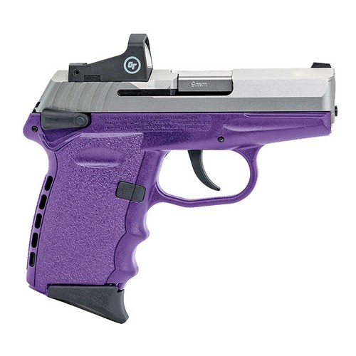 SCCY CPX-1 CB 9MM PURPLE W/H RED DOT