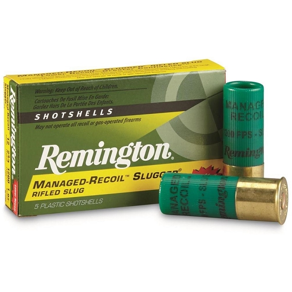 Remington 12 Gauge Ammunition Managed-Recoil RL12RS 2-3/4
