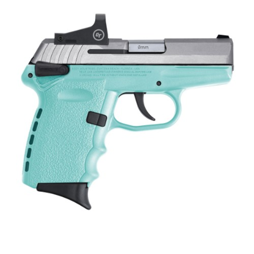 SCCY CPX-1 CB 9MM BLUE W/H RED DOT