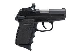 SCCY CPX-1 CB 9MM BLACK W/H RED DOT