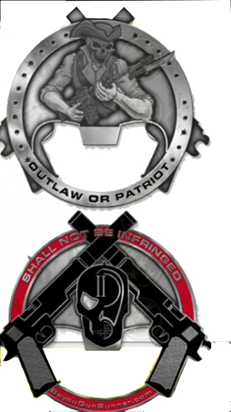BGR CHALLENGE COIN/ BOTTLE OPENER