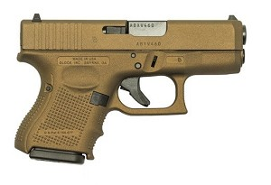 GLOCK 26 GEN4 BURNT BRONZE